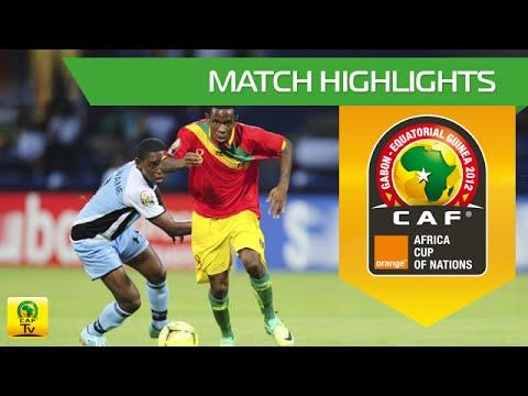 Botswana vs Guinée 2012