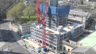 One the Elephant, Elephant and Castle, time lapse film October 2014