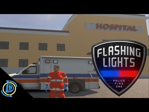 Flashing Lights | #1 | Medic | Can we actually save people?