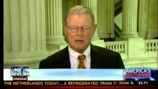 Inhofe Joins FOX News America's Newsroom To Discuss Sec. Kerry's Visit To Egypt