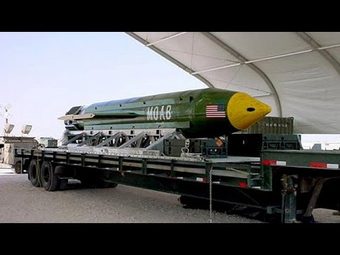 Την «μητέρα όλων των βομβών» χρησιμοποίησαν οι ΗΠΑ στο Αφγανιστάν