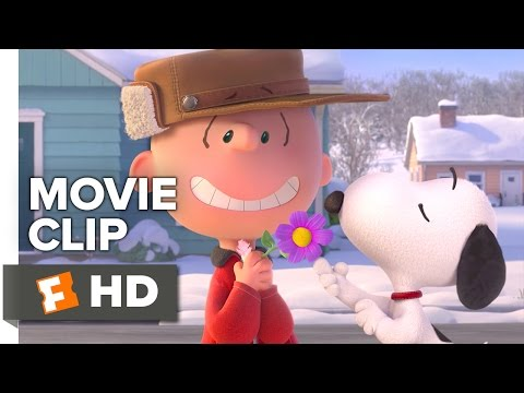 The Peanuts Movie CLIP - Little Red Haired Girl (2015) - Animated Movie HD
