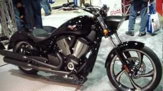 9. 2013 Victory Vegas 8-Ball Motorcycle