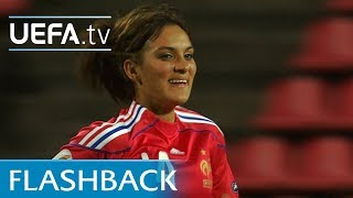 Louisa Nécib was among the goalscorers when France beat Iceland 3-1 in UEFA Women's EURO 2009. See her strike now.Subscribe: http://www.youtube.com/subscription_center?add_user=uefaFacebook: https://www.facebook.com/uefacomTwitter: https://twitter.com/UEFAcomG+: https://plus.google.com/+UEFAcomhttp://uefa.com