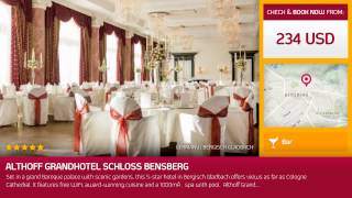 Bergisch Gladbach Germany  City new picture : Althoff Grandhotel Schloss Bensberg (Bergisch Gladbach, Germany)