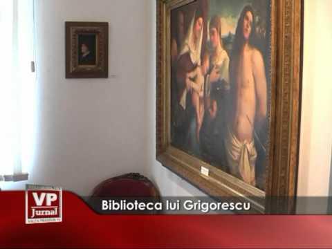 Biblioteca lui Grigorescu