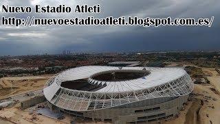 New Stadium Wanda Metropolitano: Construction update 25/6/2017