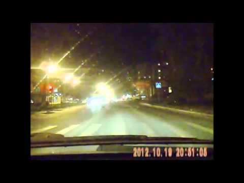 Авария на перекрёстке