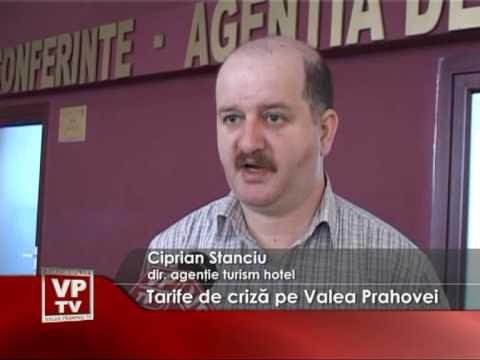 Tarife de criză pe Valea Prahovei