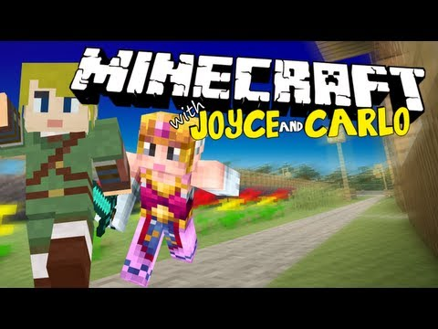 Minecraft with Joyce and Carlo #1: HI JOYCE!