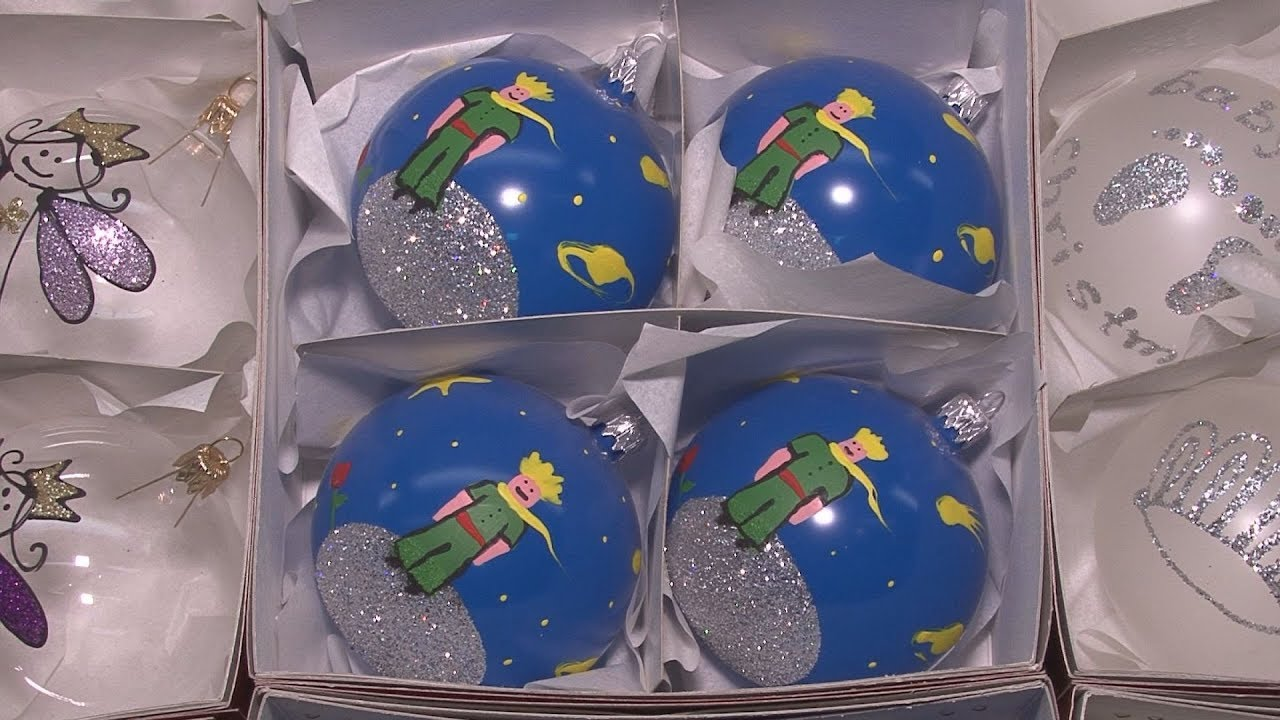 Χειροποίητες χριστουγεννιάτικες μπάλες με φυσητό γυαλί