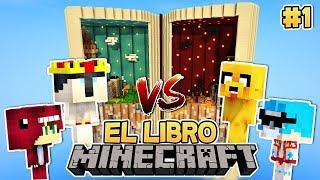 Download Lagu EL LIBRO: ¡LA BATALLA ENTRE YOUTUBERS HA EMPEZADO! 😱📖 EL LIBRO EP #1 Mp3