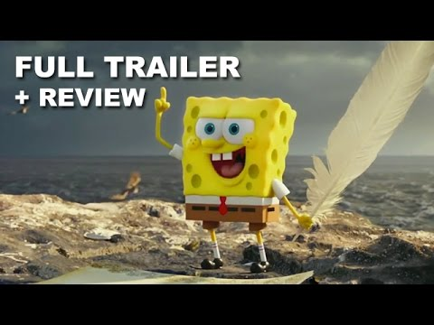review trailer - The SpongeBob Movie Sponge Out of Water debuts its international trailer for 2015! Watch it today with a trailer review! http://bit.ly/subscribeBTT The SpongeBob Movie Sponge Out of Water...