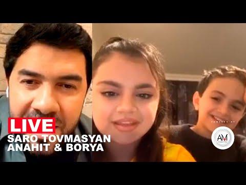 Anahit & Borya • Saro Tovmasyan / Instagram Live