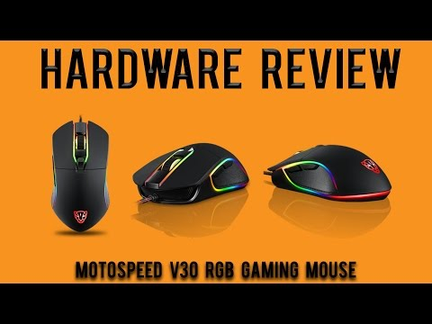 Hardware Review: Motospeed V30 RGB Gaming Mouse