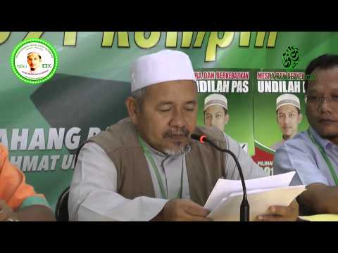Sidang Media PRK P.091 Rompin | Dato' Tuan Ibrahim Tuan Man