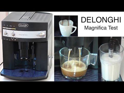 DeLonghi Magnifica ESAM 3000.B | Test + Erklärung