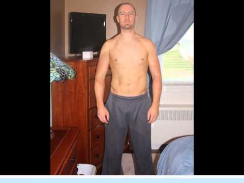 P90x transformation with shakeology