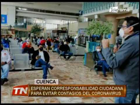 Esperan corresponsabilidad ciudadana para evitar contagios del coronavirus
