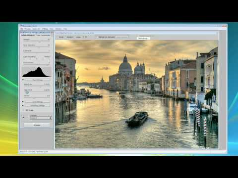 Photomatix Tutorial for Windows