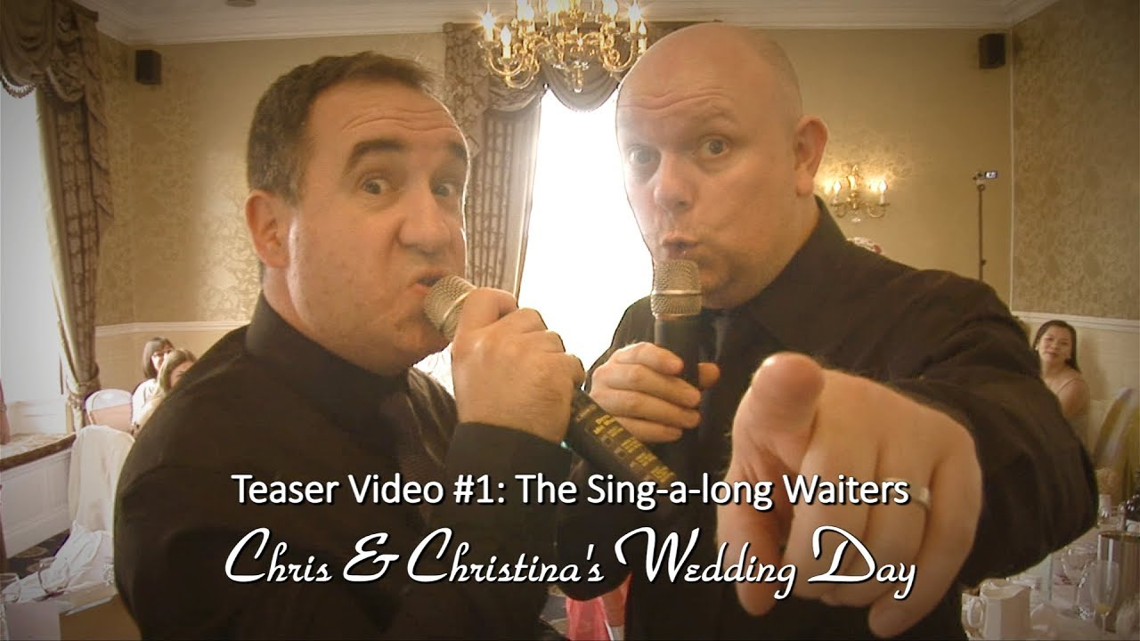 Chris & Christina: The Sing-a-long Waiters. Teaser Video #1