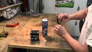 8. Snowmobile Arctic Cat M8 Injector Cleaning