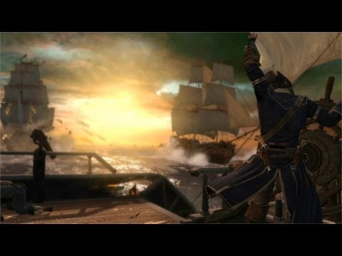 Assassin's Creed 3 Seeschlachten Trailer