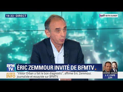 """Eric Zemmour: """"Si la droite est dans cet état là, c'est qu'elle n'a plus pensé depuis trente ans"""""""
