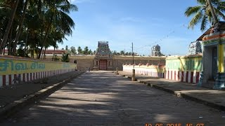 Thiruvaiyaru ~ Aiyarappar (also) Panchanadeeswarar Temple.There has been the legend that Thirunavukkarasar, the ardent devotee, as well, one among the four saints of shaivism wanted to worship Lord Shiva at his own abode, the Kailash. But, after having  worshiped lord Shiva at Kalahasti, he had been so tired to reach mount Kailash in time. His body condition was not fit enough, whereas, his mind setting had been so stubborn to worship lord Shiva at Kailash. Lord Shiva had appeared in disguise, as an old monk, and had told Thirunavukkarasar that he wouldn't able to reach Kailash and better he would return safely. But, Thirunavukkarasar was reluctant on his decision that he could however reach Kailash, or otherwise, it could have been better to die. Lord Shiva, after having found his strong will, had appeared in His real form and told Thirunavukkarasar that he could sink in the nearby pond and could emerge from the Surya Pushkarni theertha at Thiruvaiyaru. There he could able to see lord Shiva with goddess Parvathi, as if, in mount Kailash. Thirunavukkarasar had done what lord Shiva had told him and had seen the posture of Lord Shiva, at mount Kailash.Kind information to YouTube -:1. All the photos have been original, taken with Nikon DSLR D3100.2. Place of photo session - Lord Aiyarappar temple, Thiruvaiyaru near Tanjore district of Tamil Nadu, India.3. Date of photo session - 10-06-2015. Evening.4. Conversion of photos into movieclip - By MemoriesOnTV.5. Output file - Mpg video file.6. HD conversion  - From Mpg to F4v.7. Conversion of text into speech - By NaturalReader.8. Background music - YouTube free audio library in which 'Clouds.mp3'.RegardsSelvaganapathy S