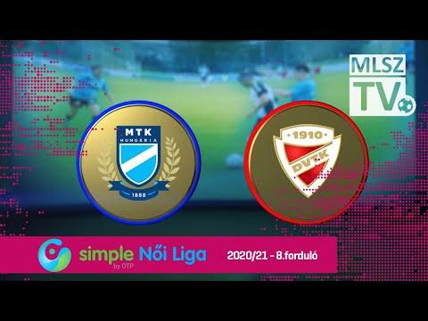 8. forduló: MTK - DVTK 2-1 (0-1)