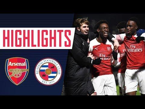 BALOGUN SCORES FOUR! | Reading 0 - 8 Arsenal | Arsenal Academy | U18's