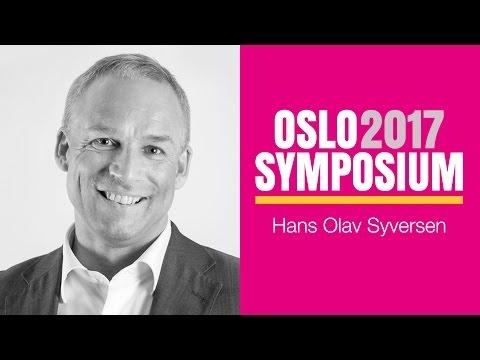 Hans Olav Syversens tale på Oslo Symposium 2017