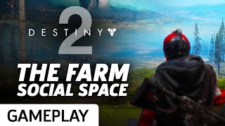 Here is a quick look at Destiny 2's social space taken from the brief period where everyone was allowed in during the open beta.Subscribe to GameSpot! http://youtube.com/GameSpot?sub_confirmation=1Visit all of our channels:Features & Reviews - http://www.youtube.com/GameSpotVideo Game Trailers - http://www.youtube.com/GameSpotTrailersMovies, TV, & Comics - http://www.youtube.com/GameSpotUniverseGameplay & Guides - http://www.youtube.com/GameSpotGameplayMobile Gaming - http://www.youtube.com/GameSpotMobileLike  - http://www.facebook.com/GameSpotFollow - http://www.twitter.com/GameSpothttp://www.gamespot.com