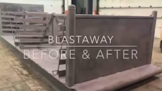 Sandblasting & Painting a Skid in Grande Prairie, AB | Endura Slip Stop