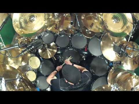 B.Y.O.B. by System Of A Down. Drum Cover- By Kevan Roy (видео)
