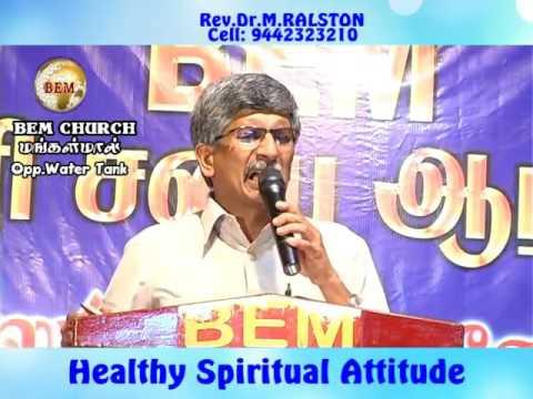 Healthy spiritual Attitude Part 1