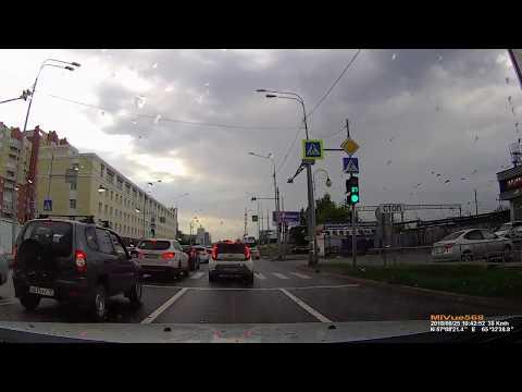 ДТП в Тюмени на улице Максима Горького