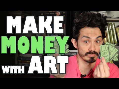 How to Make Money Doing Art Commissions in 2020