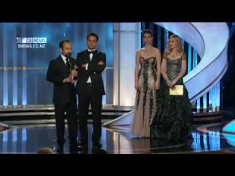 Asghar Farhadi Acceptance Speech at 2012 Academy Awards