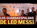 Messi necesitó 6 guardaespaldas en El Cairo