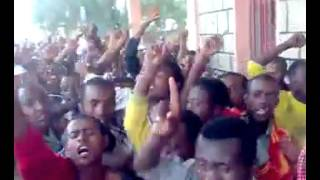Ethiopian Muslims continue their strong Demonstration at Asasa Arsi