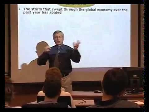 Outlook for the Global Economy: Is there life after near death? – Joe Nellis Part 3