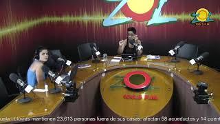 Zoila Luna comenta sobre centro de acopio para las ayudas a los afectados por el Huracán María