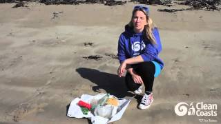 #2minutebeachclean with Easkey Britton