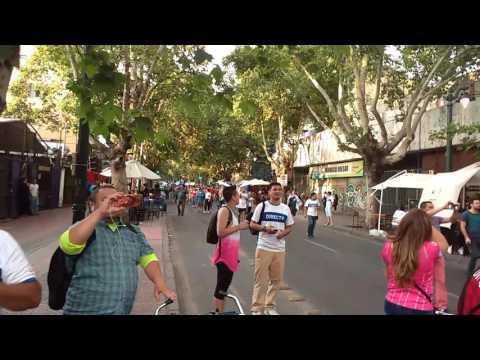 Los cruzados se toman barrio Bellavista - Los Cruzados - Universidad Católica