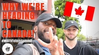 BEHIND THE !D: WHY WE'RE HEADING TO CANADA! | VLOG #1[EPISODE]
