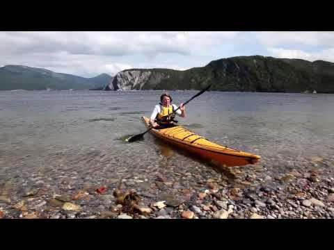 Kayaking on Bonne Bay