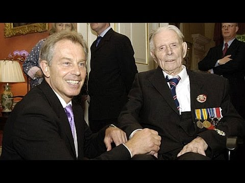 War Criminal Tony Blair and the 111-Year-Old Soldier