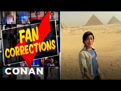 The best Conan Fan Correcktion video to date.