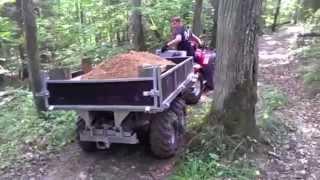 Video Vahva Jussi 400 earth bucket and trailer 1500 in Sigulda National park MP3, 3GP, MP4, WEBM, AVI, FLV Juli 2017